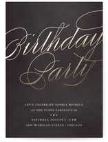 Birthday party online invitations minted gilded cocktails filmwisefo