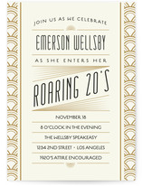 Roaring 20S Birthday Bash