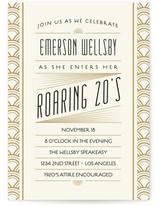 Roaring 20S Birthday Bash