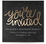 You Are Invited Lettered