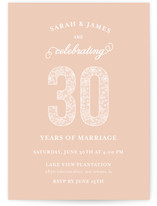 Lace anniversary