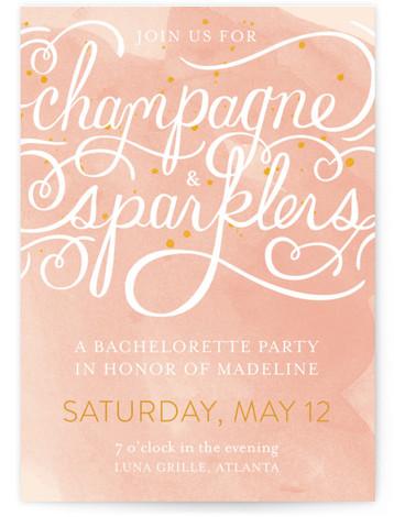 champagne sparklers bachelorette