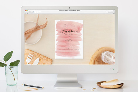 Classic Bachelorette Party Online Invitations