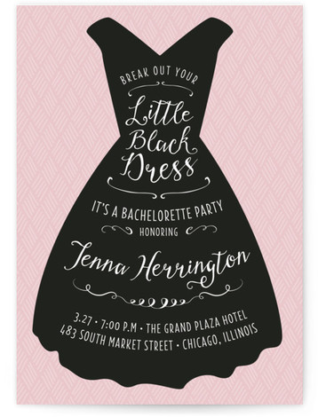 bachelorette party online invitations minted