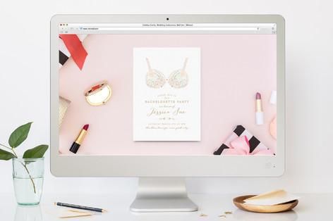 Pretties Bachelorette Party Online Invitations