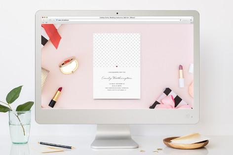 polka dot bachelorette party online invitations minted