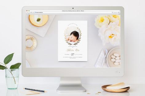 laurel naming bris and baby naming online invitati minted