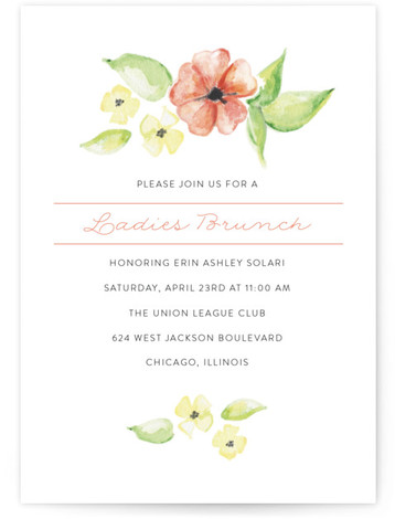tea party online invitations minted