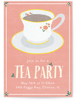 Illustrated Tea Party