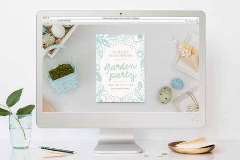 Lakeside Florals Brunch Online Invitations