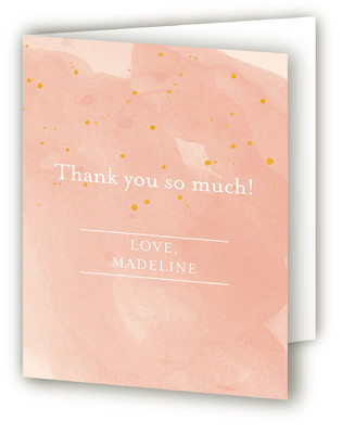 Champagne & Sparklers Bachelorette Bachelorette Party Thank You Cards