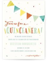 Fiesta Children's Birthday Party Online Invitations