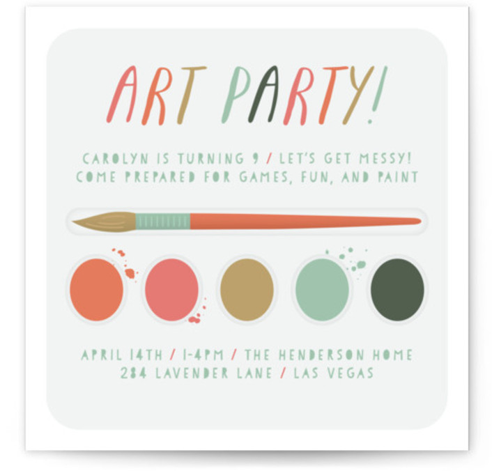 Unique Online Invitations For Kids Birthday Parties