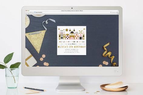 Our World Children's Birthday Party Online Invitations