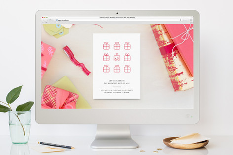 best gift christmas online invitations by becca th minted