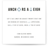 Anchors Aweigh by Liz Warren