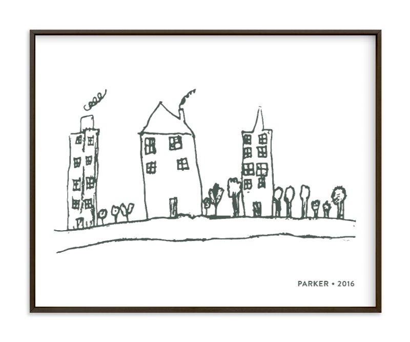 Your Drawing as Art Print Your Drawing As Art Print