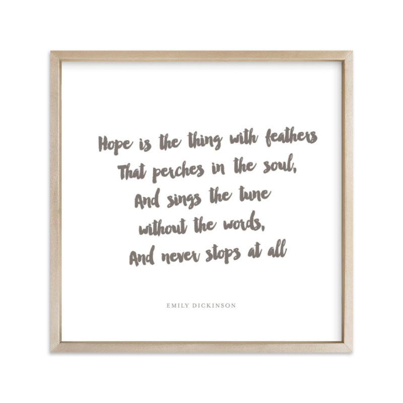 """""""Your Favorite Poem As An Art Print"""" - Drawn Digital Art by Minted in beautiful frame options and a variety of sizes."""