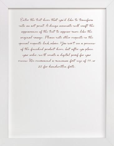 Wedding Vows Art | Minted