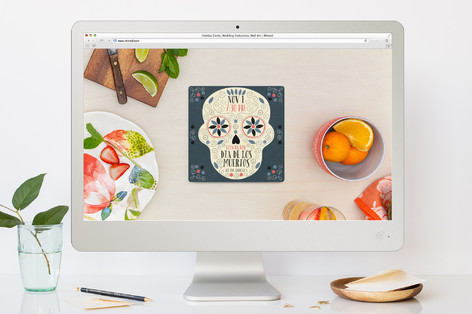 Day Of The Dead Dia de los Muertos Online Invitations