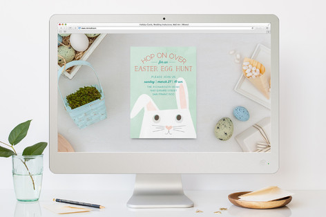 Hoppity Hop Easter Online Invitations