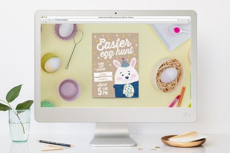 Mr. Bunny Easter Online Invitations