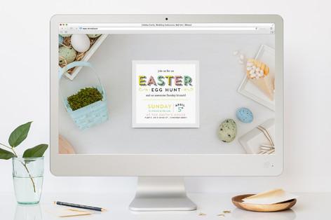 Egg-cellent Easter Easter Online Invitations