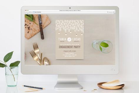 Botanica Engagement Party Online Invitations