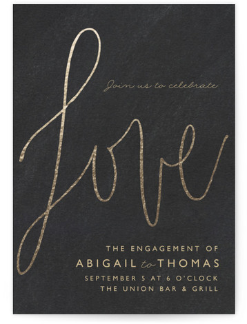 Engagement Party Online Invitations Minted