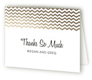 Fringe On Top Engagement Party Thank You Card