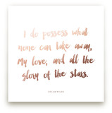 A Favorite Poem as a Foil Art Print Kids Drawn Art
