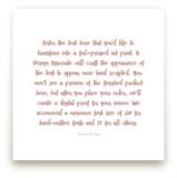 A Favorite Poem as a Foil Art Print