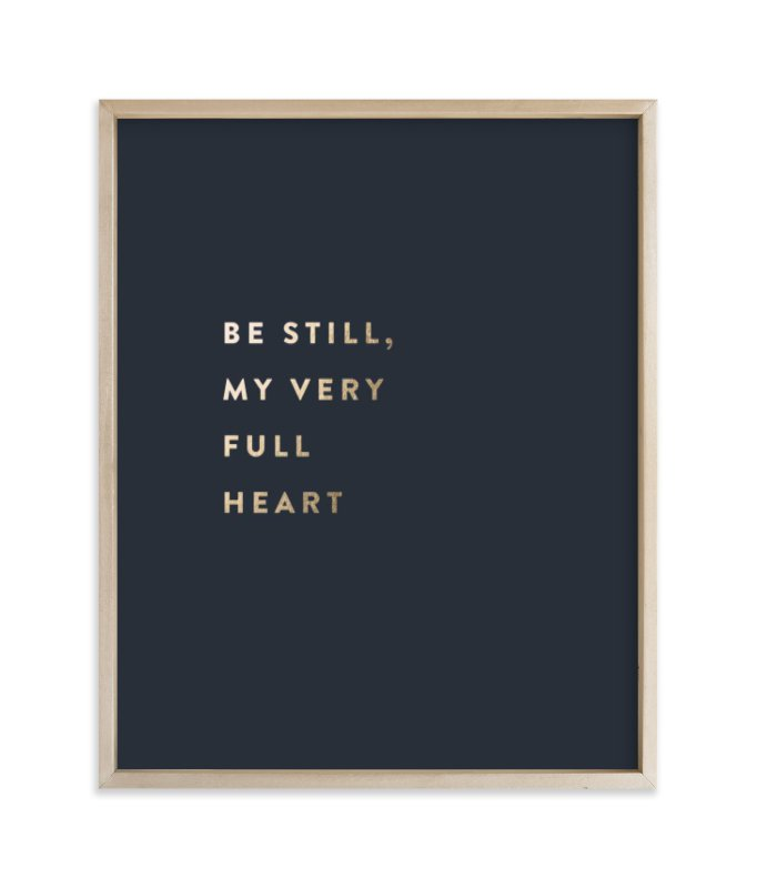 """""""Custom Quotes - Foil"""" - Drawn Foil Art by Minted in beautiful frame options and a variety of sizes."""