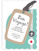 Bon Voyage Farewell Party Online Invitations