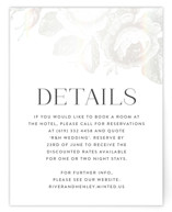 This is a white enclosure card by Design Lotus called Beloved with gloss-press printing on signature in standard.