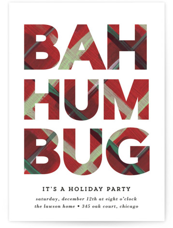 holiday party online invitations minted