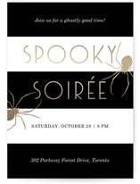 Spooky Spider Soiree by Sam Dubeau