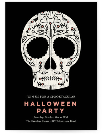 halloween online invitations minted