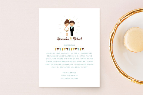 Cake Toppers Direction Cards