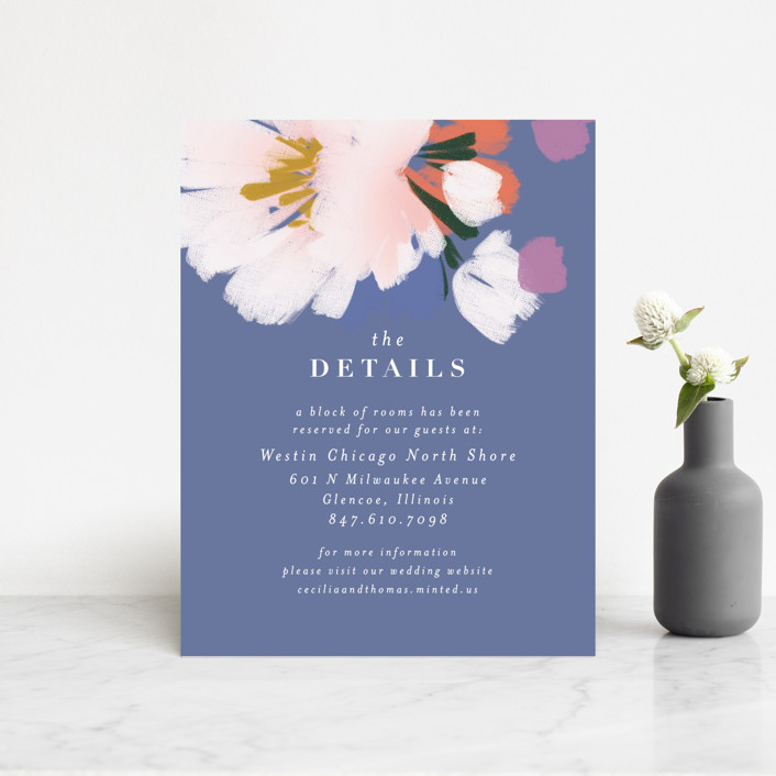 """""""romance in spring"""" - Direction Cards in Olive by Angela Marzuki."""