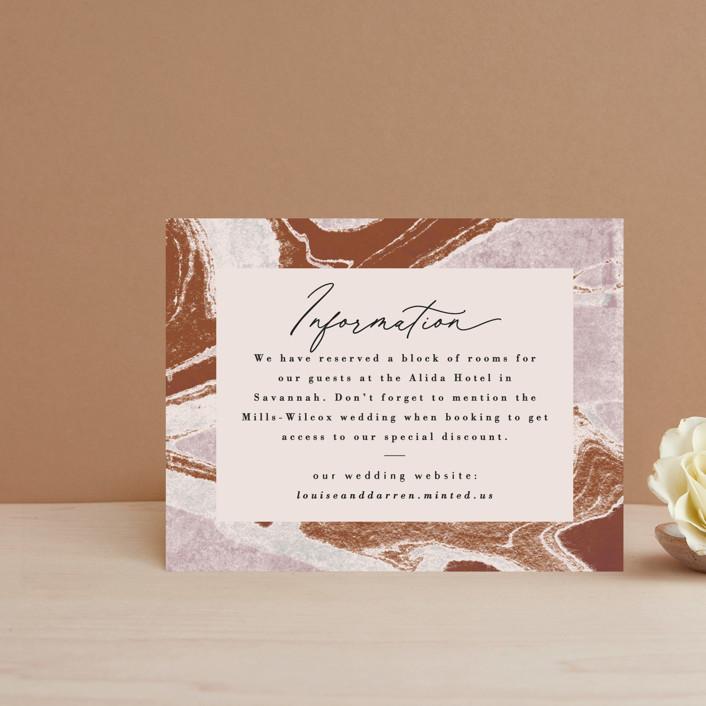 """Jasper"" - Direction Cards in Sandstone by Everett Paper Goods."