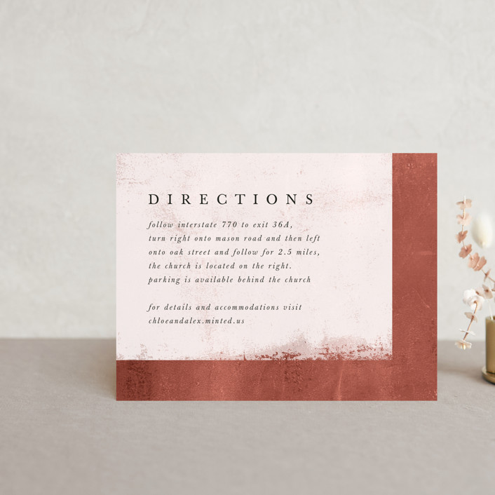 """""""Dust"""" - Modern Direction Cards in Sienna by Carrie ONeal."""
