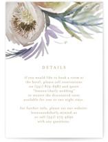 romantic bouquet Direction Cards