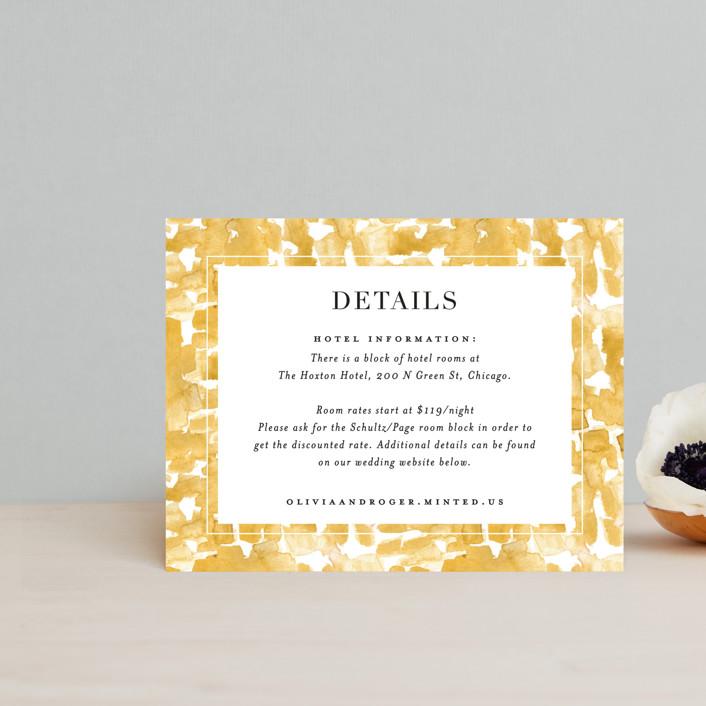 """Daydream"" - Direction Cards in Honey by Beth Schneider."