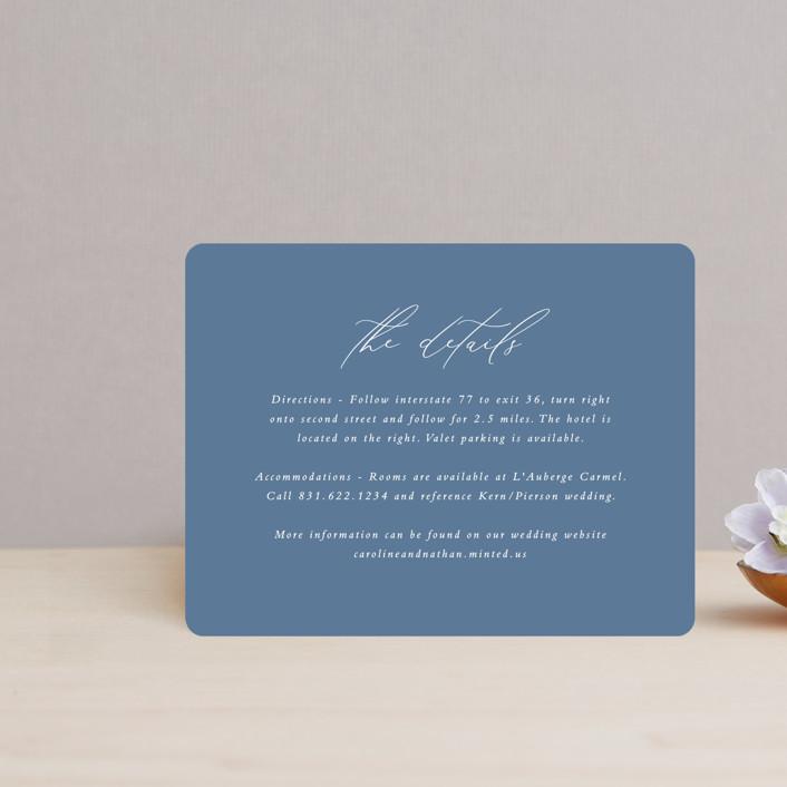 """""""Slate"""" - Direction Cards in Blue Jasper by Erin Deegan."""