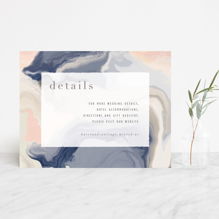 """""""marble majesty"""" - Modern Direction Cards in Mountain Range by Hooray Creative."""