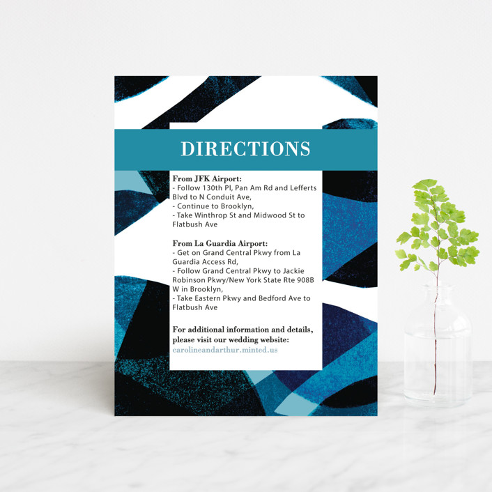 """Drops"" - Direction Cards in Sea by Bethania Lima."