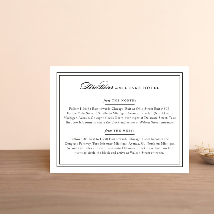"""""""Eloquence"""" - Direction Cards in Vanilla by Kimberly FitzSimons."""