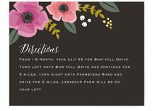 Garden Blooms Direction Cards