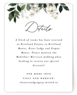 This is a green enclosure card by Everett Paper Goods called Grove with standard printing on signature in standard.